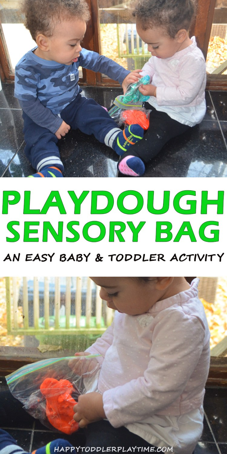 PLAYDOUGH SENSORY BAG pin