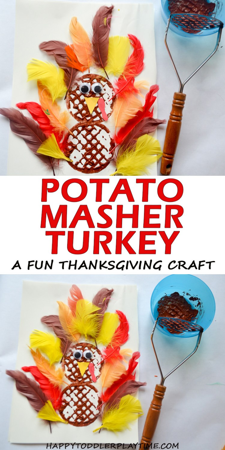 POTATO MASHER TURKEY pin