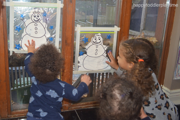 SNOWMAN MESS FREE PAINTING11
