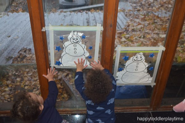 SNOWMAN MESS FREE PAINTING15