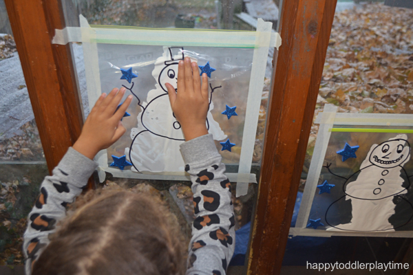 SNOWMAN MESS FREE PAINTING7
