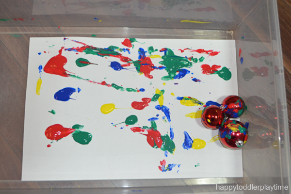 CHRISTMAS BAUBLE PAINTING 2