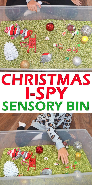 I SPY CHRISTMAS pin