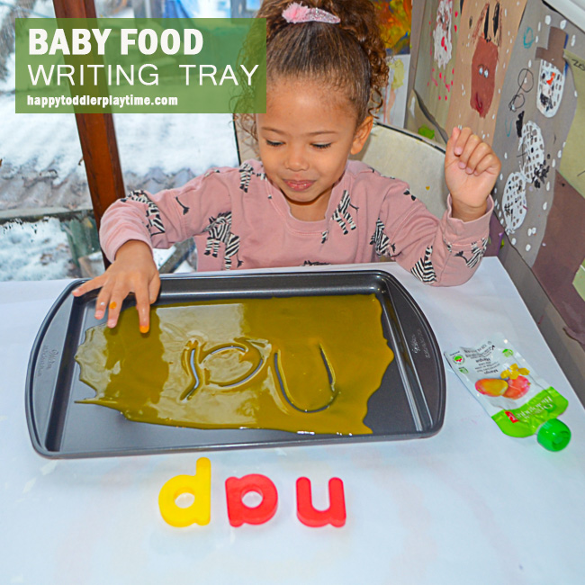 BABY FOOD WRITING TRAY fb