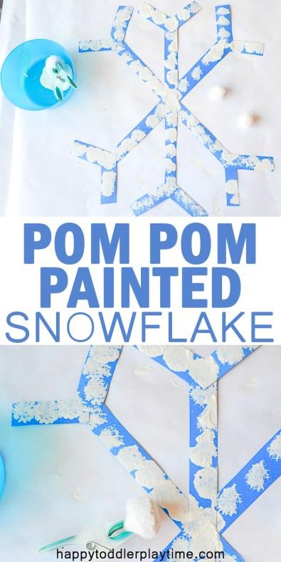 PP SNOWFLAKE pin