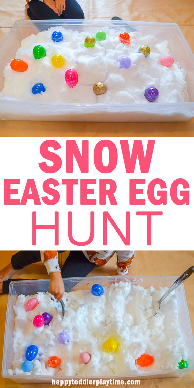 SNOW EASTER EGG HUNT PIN2
