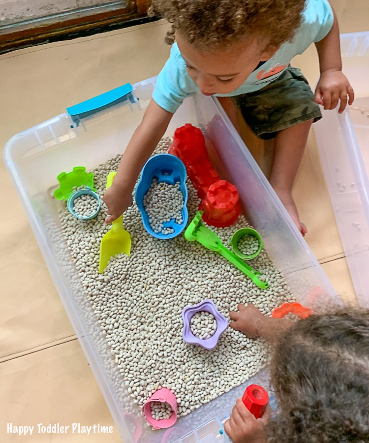 fun sensory play for toddler