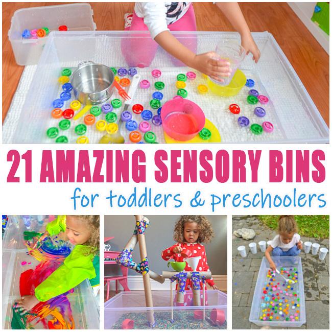 Toddler sensory bin activities