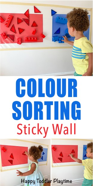 15 Genius Colour Sorting Activities For Toddlers Happy Toddler Playtime