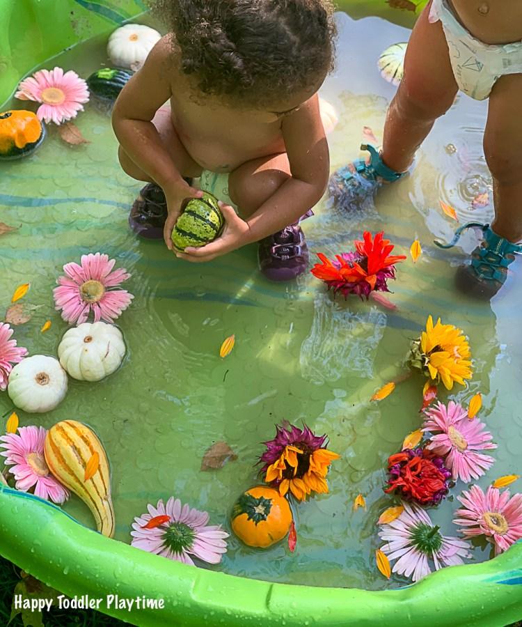 FLOWER PUMPKIN Sensory Soup