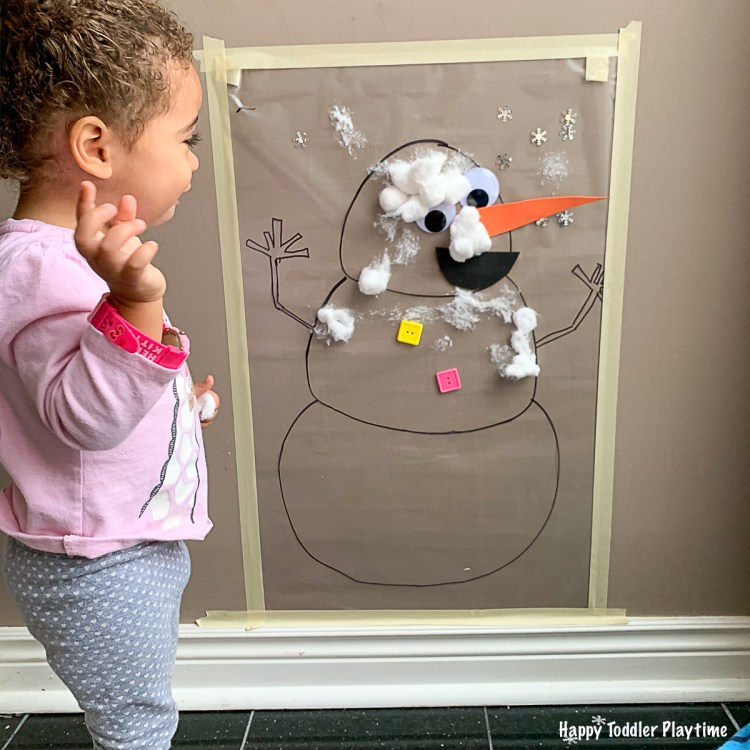 Christmas and winter activity for toddlers