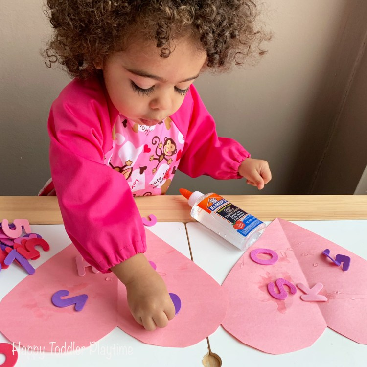 fine motor CRAFT for toddlers