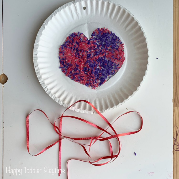valentines day textured heart sun catchers