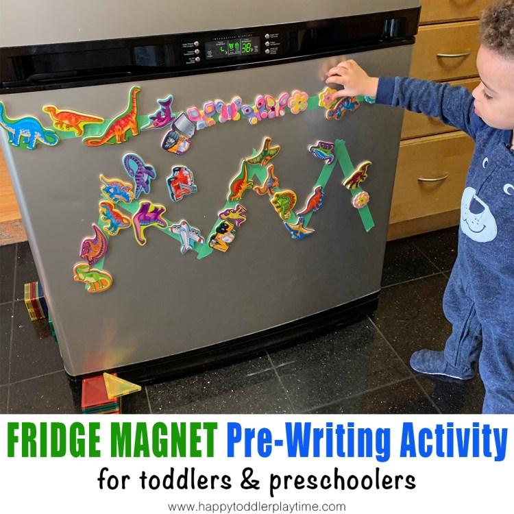 Fridge Magnet Pre-Writing Activity