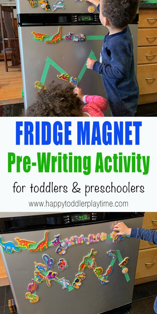 Fridge Magnet Pre-Writing Activity