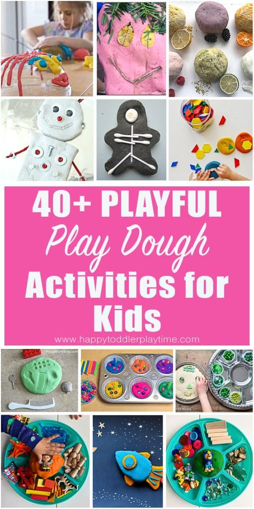 easy play dough activities