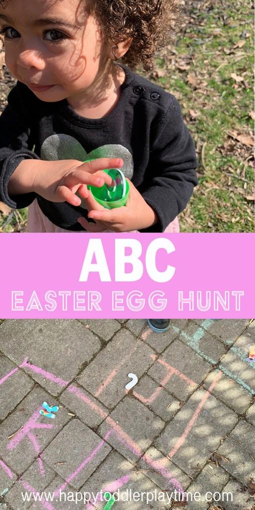 abc easter egg Hunt