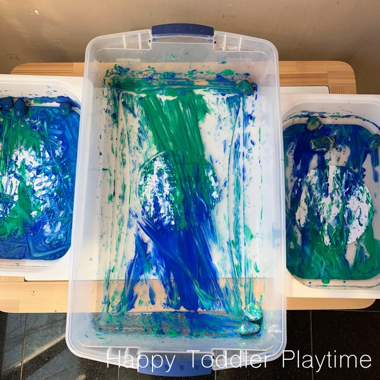 ROCK PAINTED EARTH DAY CRAFT