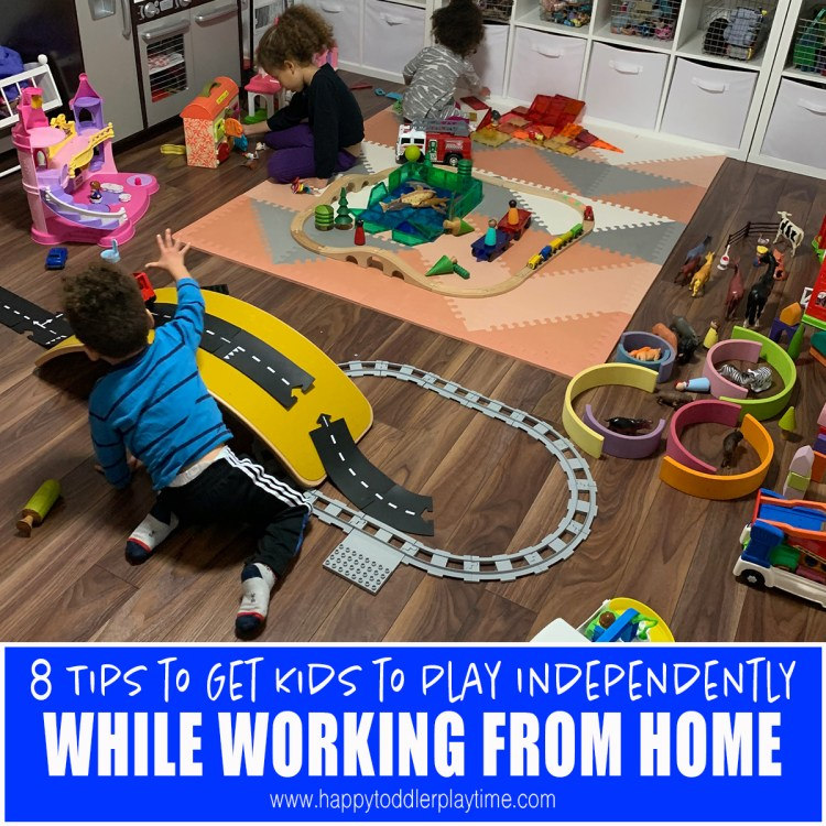 8 Tips to Get Kids to Play Independently