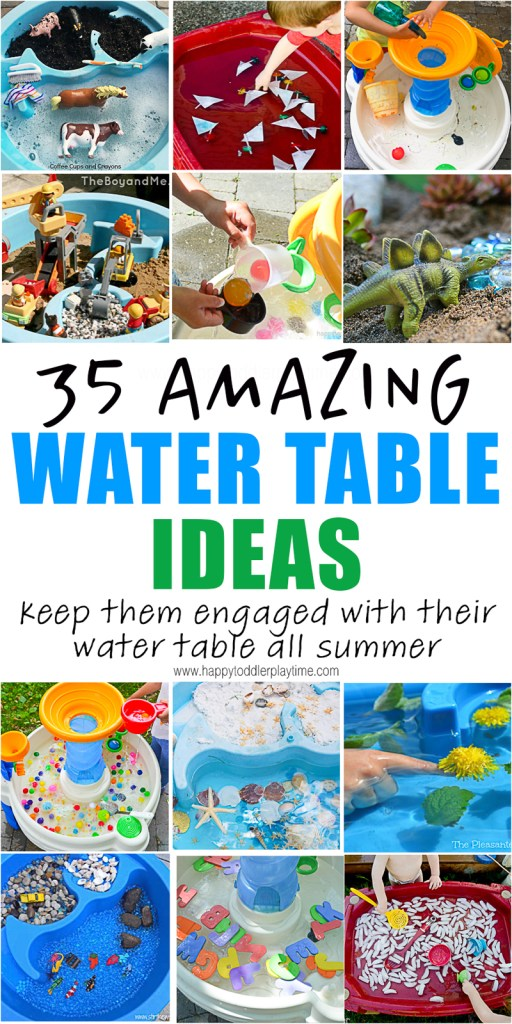 35 Amazing Water Table Ideas for Summer