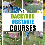 20 Amazing Backyard Obstacle Courses Happy Toddler Playtime