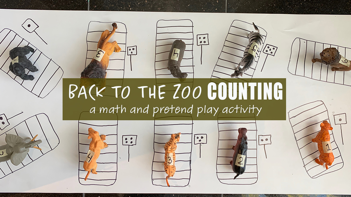 Back to the Zoo Counting Activity