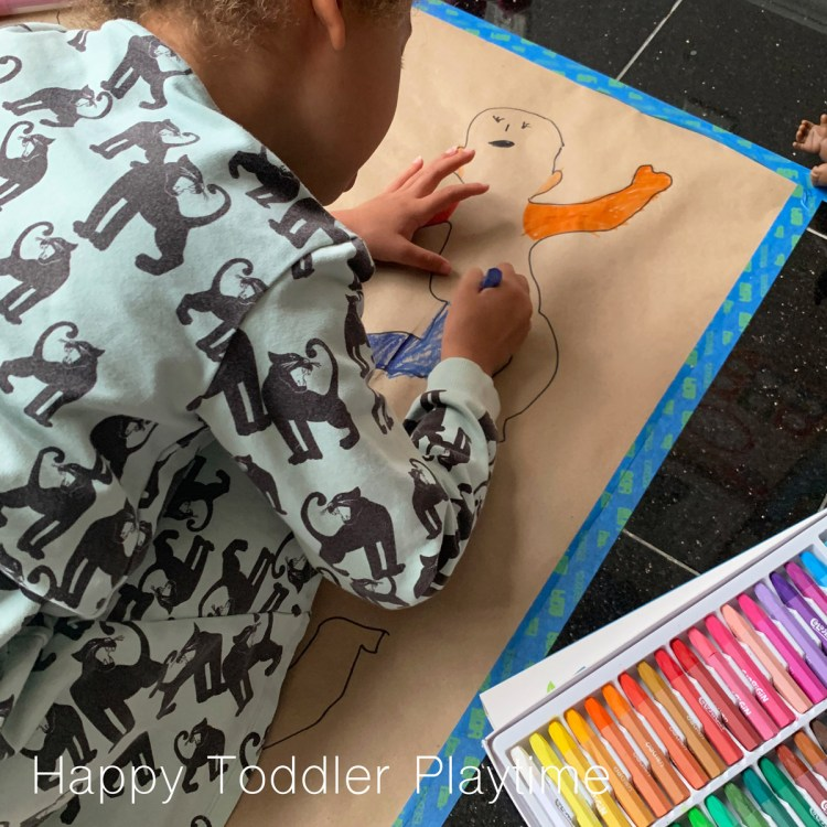 baby doll diy art colouring page for kids