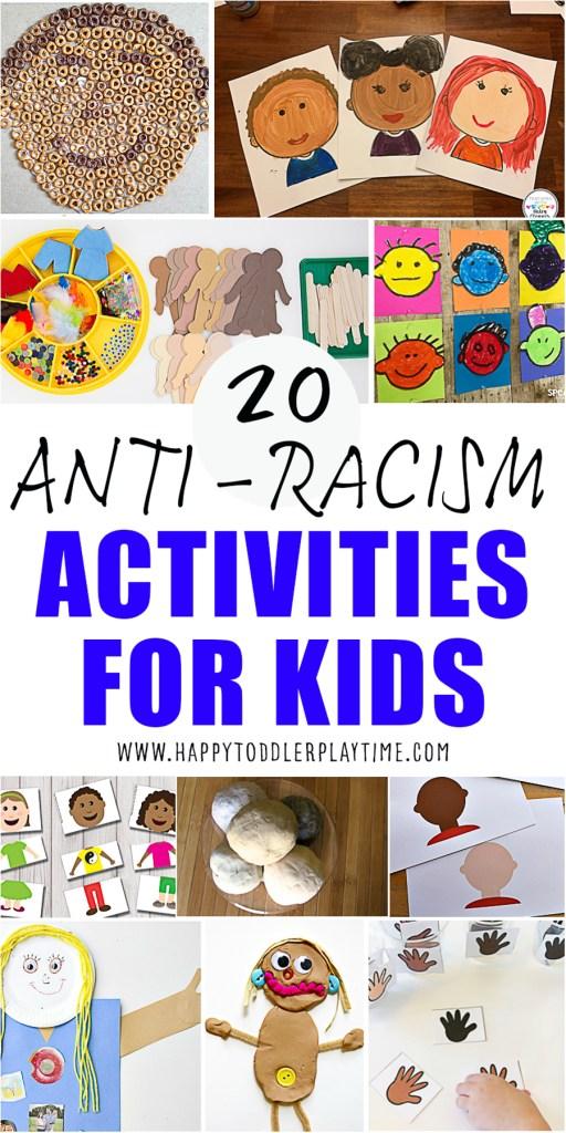 30 Anti-Racism Activities for Kids