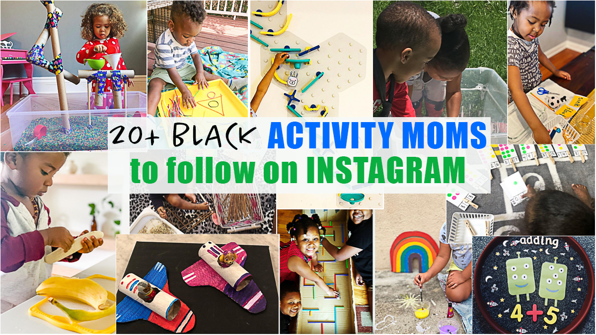 20+ Black Moms to Follow On Instagram Who Share Kids' Activities
