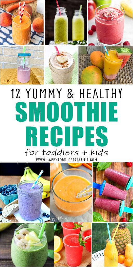 smoothie recipes for kids and toddlers