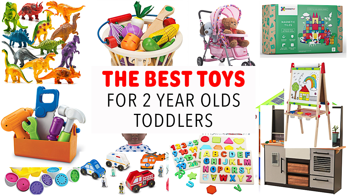 Best Toys for 2 Year Old Toddlers