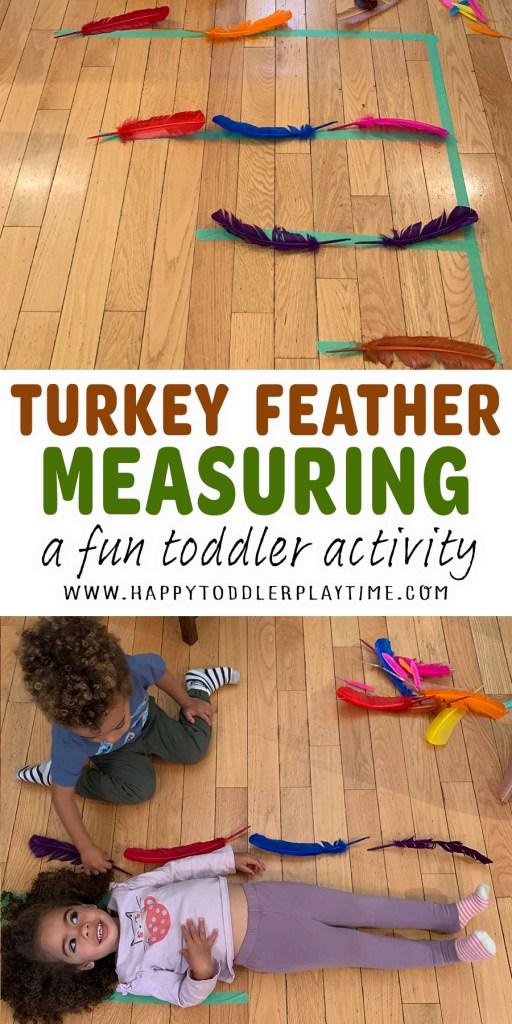 Turkey Feather Measuring Activity