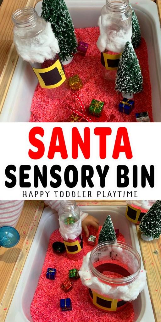 Santa Sensory Bin