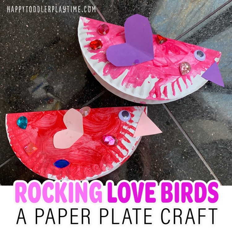 Rocking Love Birds Valentine's Day Craft