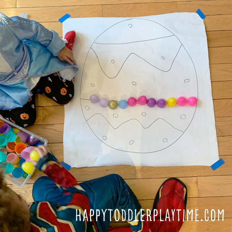 Easter Egg Line Tracing Activity