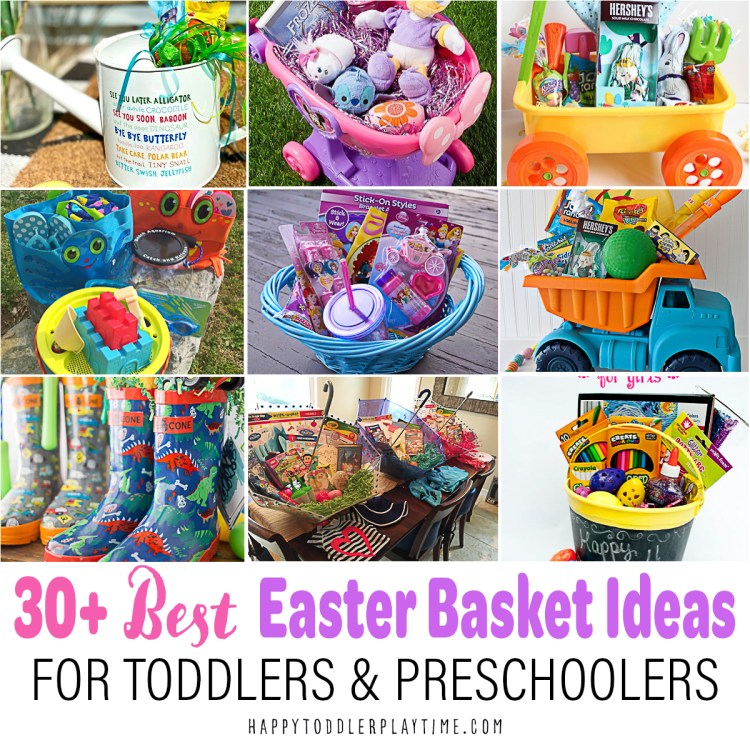 The Best Easter Basket Ideas for Toddlers & Preschoolers