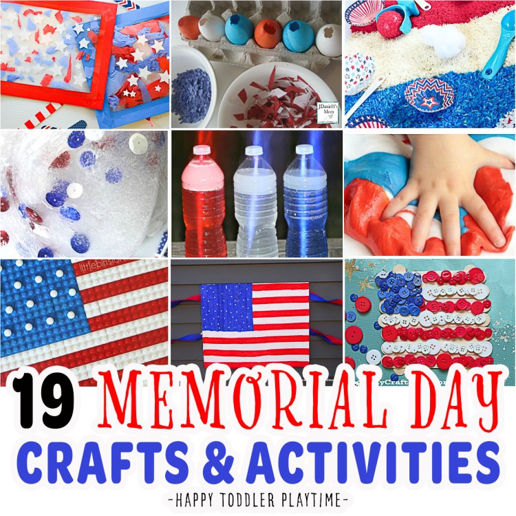 19 Memorial Day Crafts & Activities For Kids