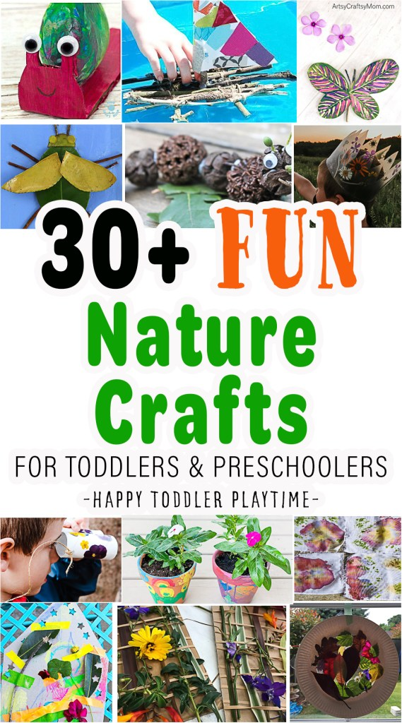 30+ Stunning Nature Crafts for Kids