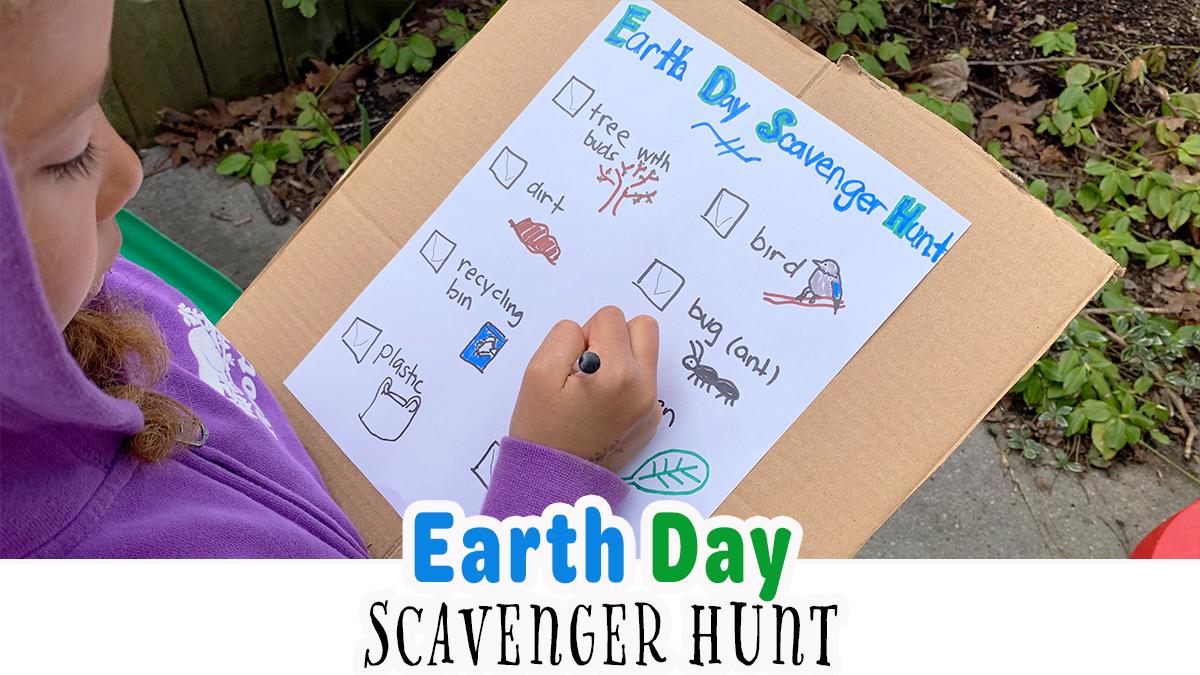 Easy Earth Day Scavenger Hunt