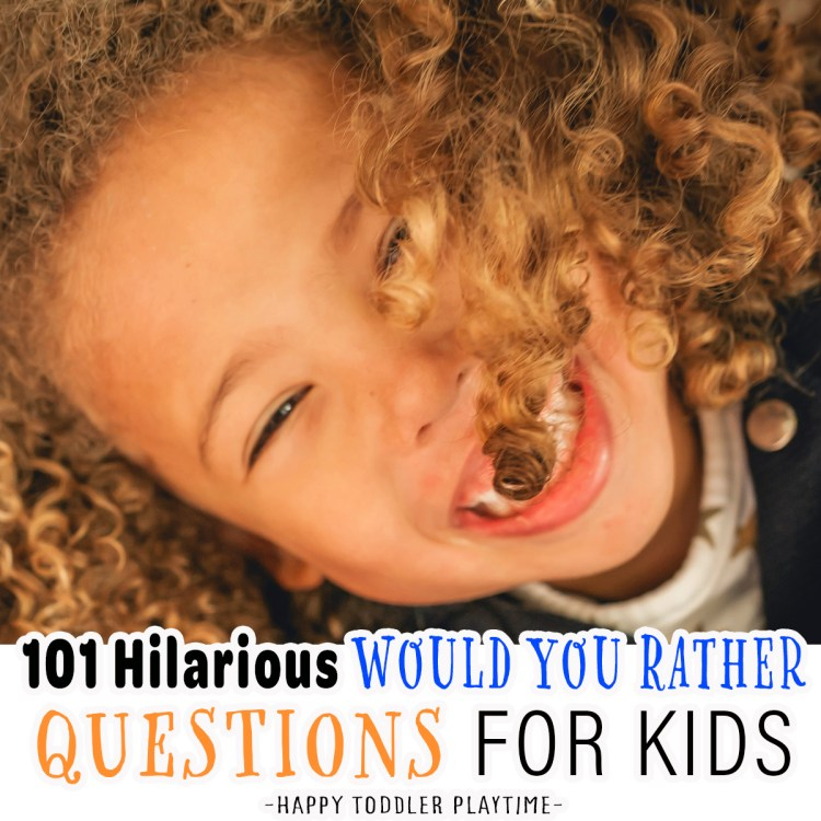 101 Would You Rather Questions for Kids