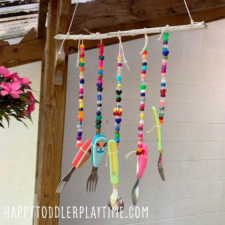 DIY Wind Chimes for Toddlers & Preschoolers
