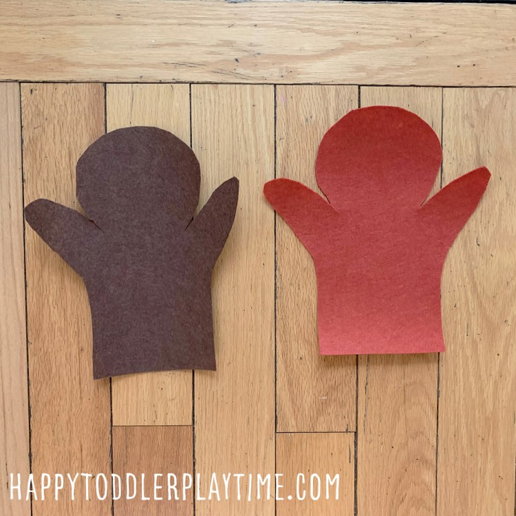 DIY Diversity Felt Hand Puppet Craft