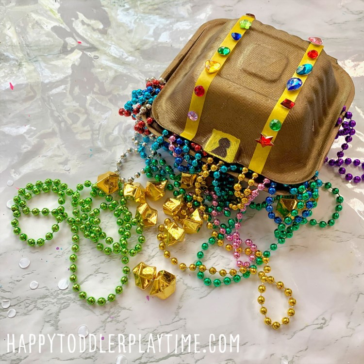 Treasure Chest Craft for Kids