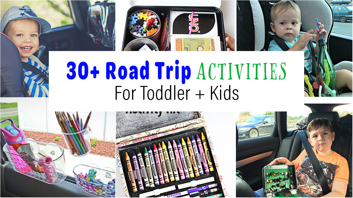 30+ Awesome Road Trip Activities & Hacks for Kids