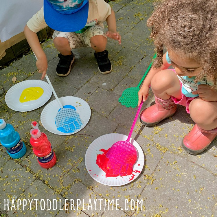Fly Swatter Painting For Summer