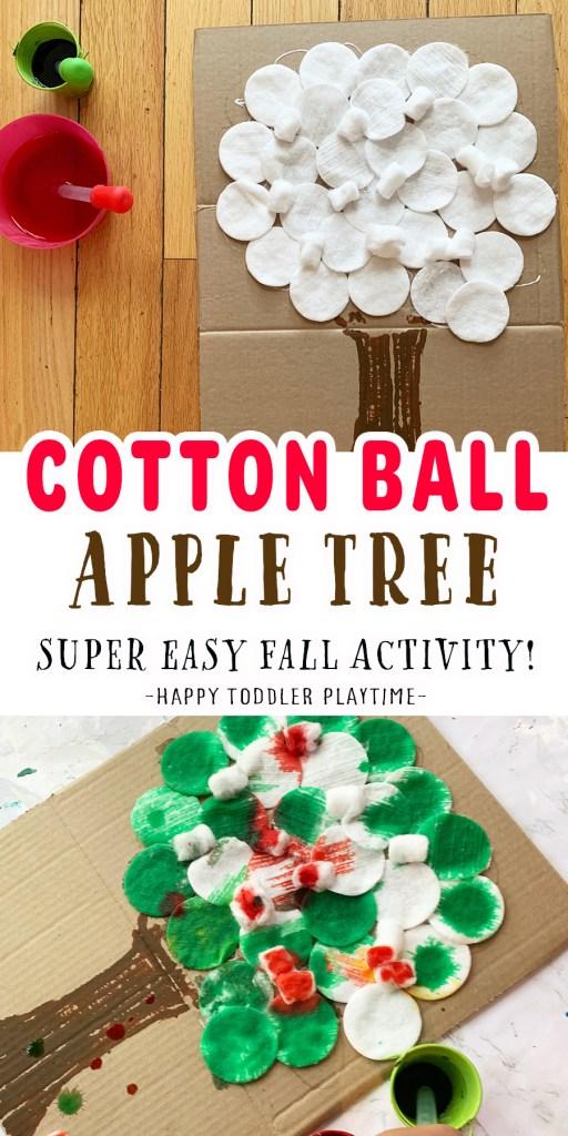 COTTON BALL APPLE TREE
