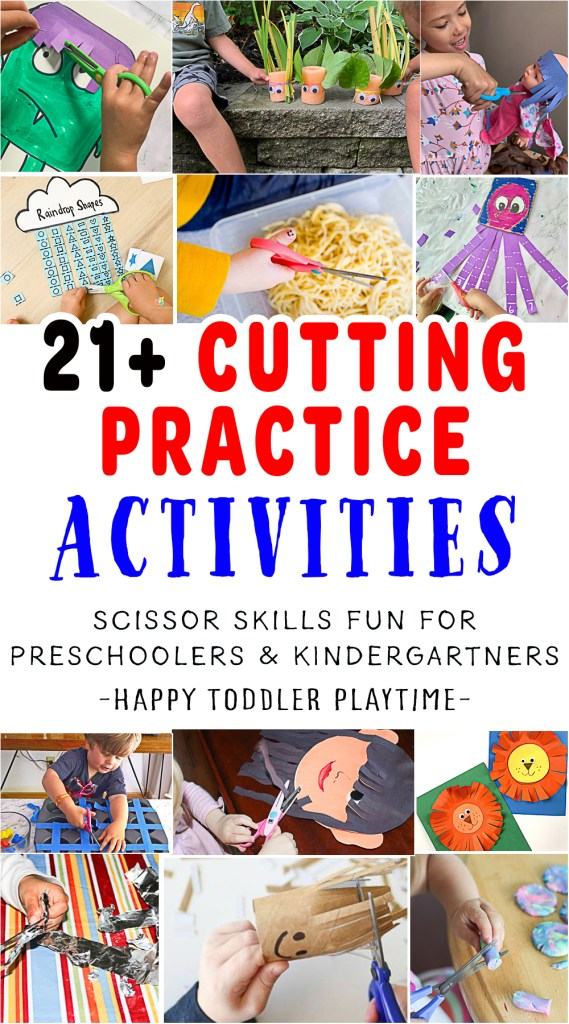 Cutting Practice for Preschoolers