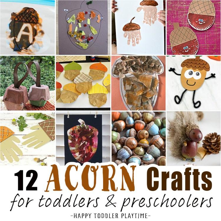 acorn crafts and activities
