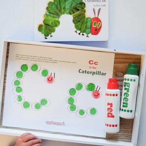 Letter C Dot Paint Activity