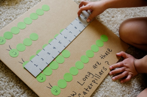 The Very Hungry caterpillar Measurement Activity